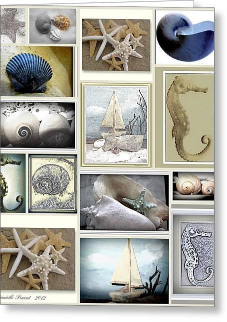 Ocean Whispers Greeting Card