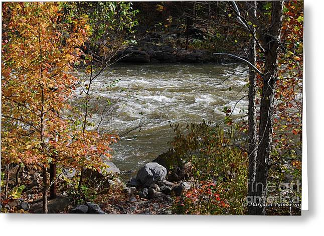 Ocoee River Rapids Greeting Card by Margaret Palmer
