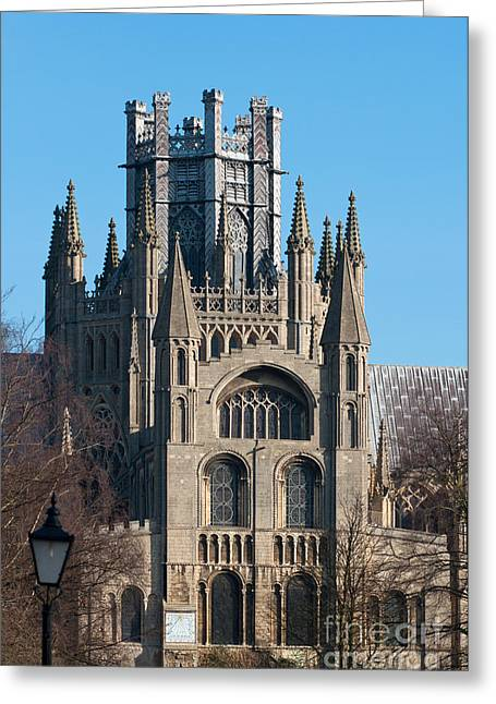 Greeting Card featuring the photograph Octagon Tower  by Andrew  Michael