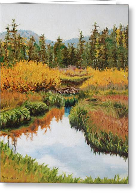 October Splendor Greeting Card