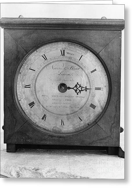 Odometer, 18th Century Greeting Card