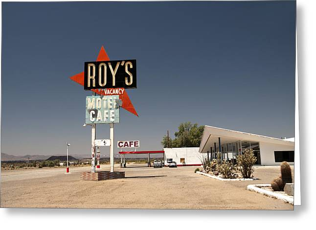 Route  66  Roys Greeting Card