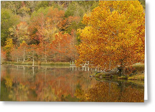 Oklahoma Autumn Greeting Card