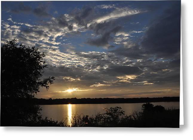 Oklahoma Lake Greeting Card