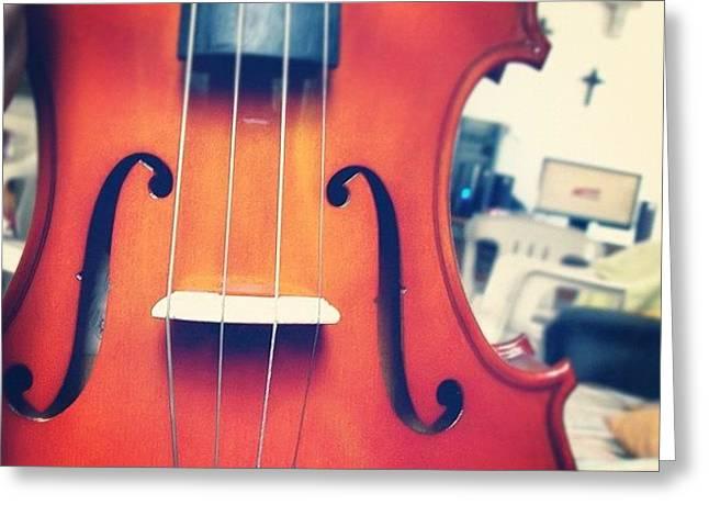 #olazaran #andreego #music #viola Greeting Card
