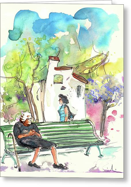 Old And Lonely In Portugal 04 Greeting Card by Miki De Goodaboom