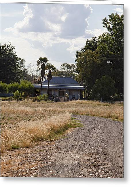Greeting Card featuring the photograph Old Australian Home by Carole Hinding