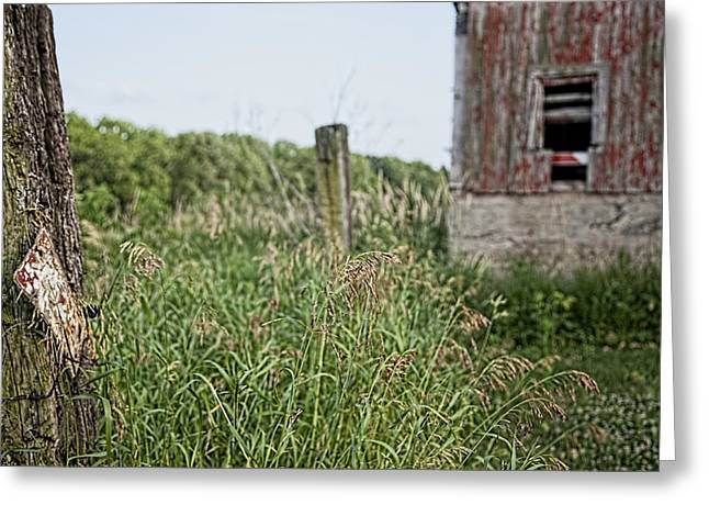 Greeting Card featuring the photograph Old Barn 15 by John Crothers