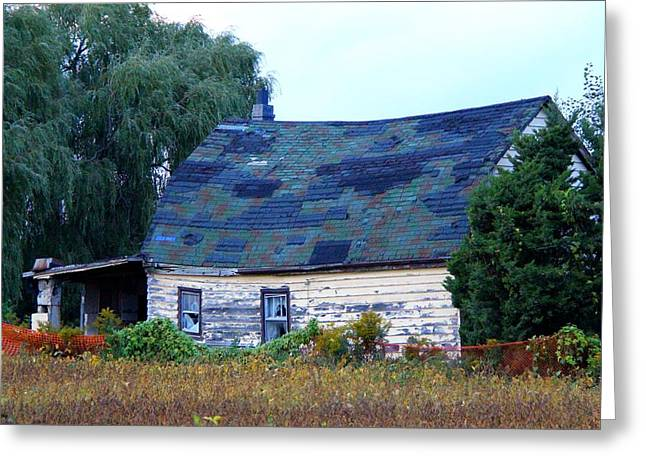 Greeting Card featuring the photograph Old Barn by Davandra Cribbie