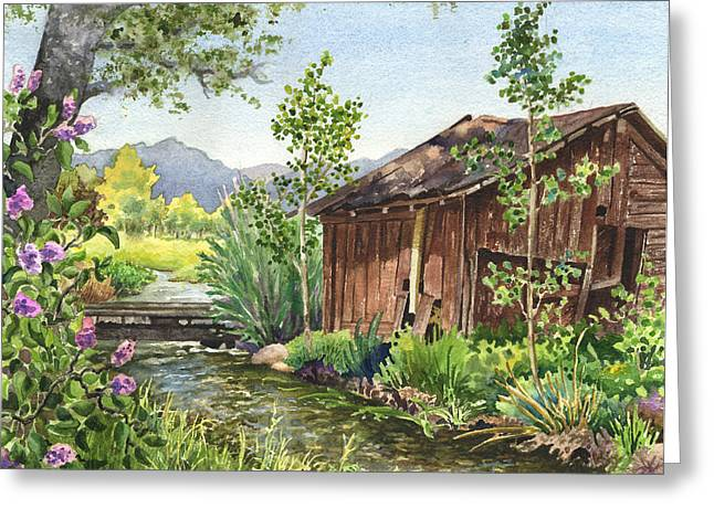 Old Braley Barn Greeting Card