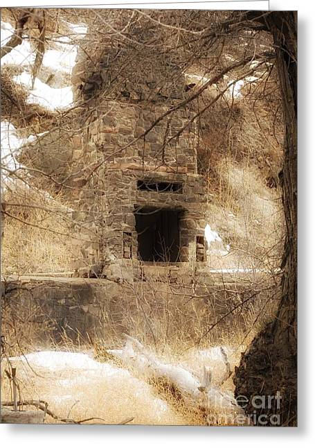 Old Chimney Greeting Card