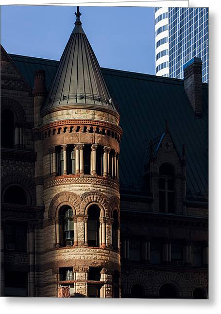 Old City Hall Turret Greeting Card