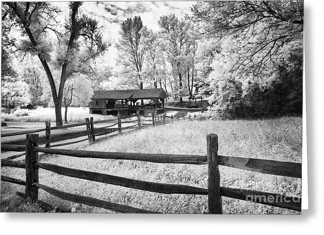 Old Country Saw-mill Greeting Card by Paul W Faust -  Impressions of Light