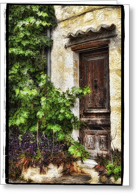 Old Door 2 Greeting Card by Mauro Celotti