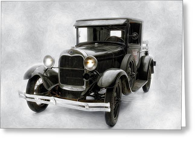 Greeting Card featuring the photograph Old Ford by Gary Rose