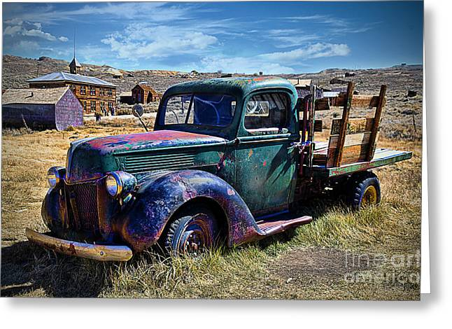 Old Ford V8 Truck Greeting Card