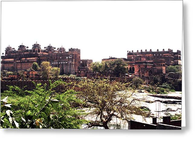Old Fort In India Greeting Card by Sumit Mehndiratta