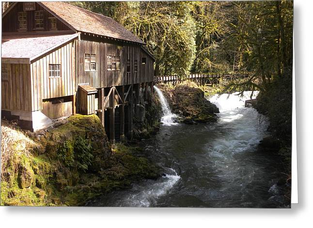 Old Grist Mill Greeting Card by Garry Kaylor