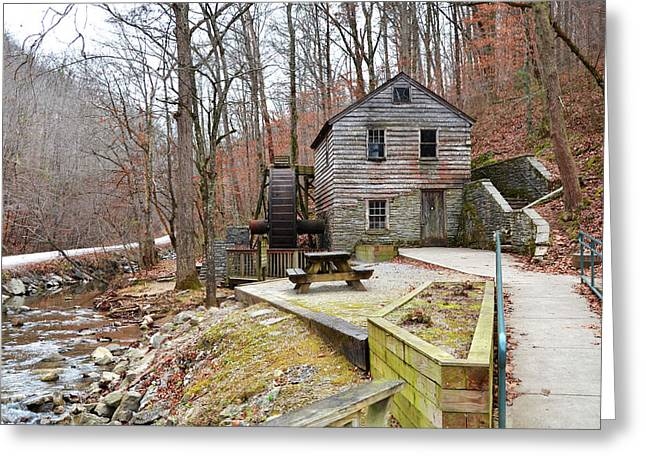 Greeting Card featuring the photograph Old Grist Mill by Paul Mashburn