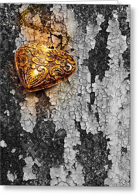 Old Heart  Greeting Card by Natee Srisuk