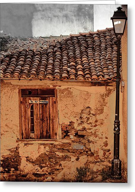 Thessaloniki, Greece - Old House Greeting Card