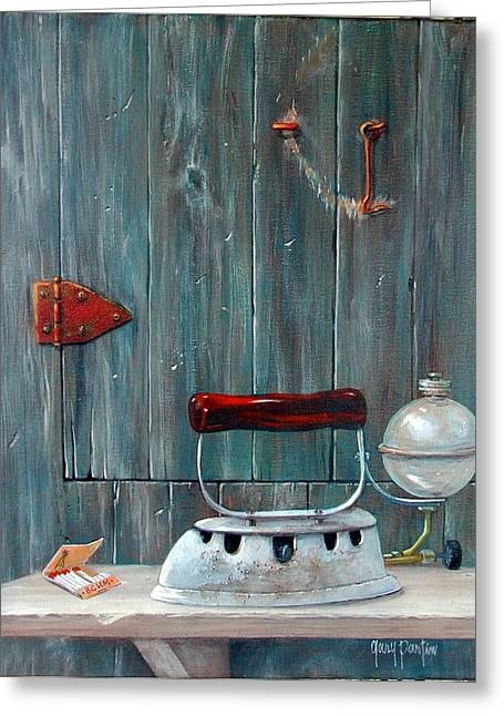 Old Iron At Bchm Greeting Card