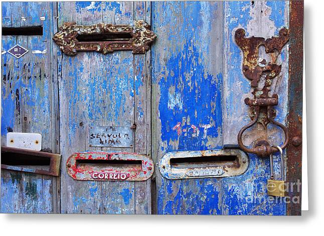 Old Mailboxes Greeting Card