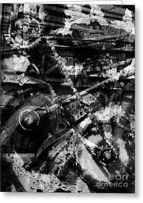 Old Mechanism  Greeting Card by Igor Kislev