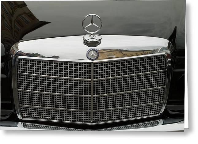 Old Mercedes Logo Greeting Card by Odon Czintos
