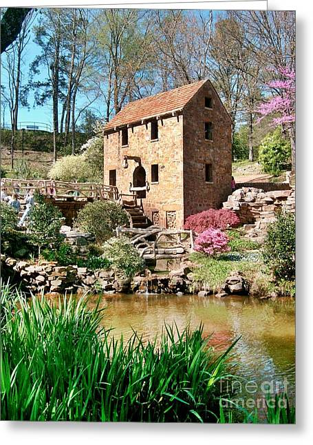 Old Mill Greeting Card by Joe Finney