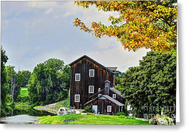 Old Mill Greeting Card