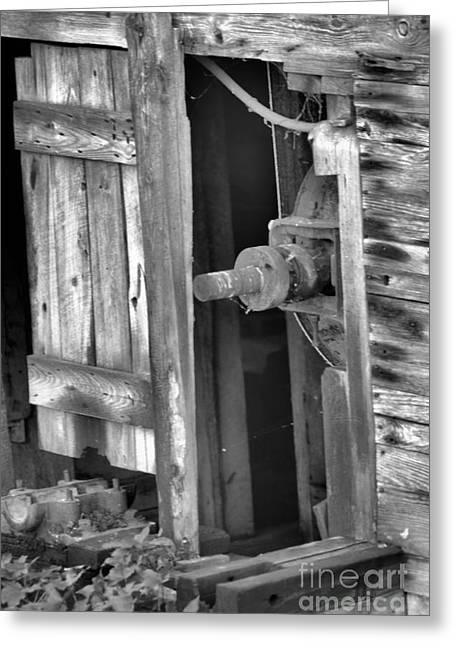Greeting Card featuring the photograph Old Mill  by Tamera James