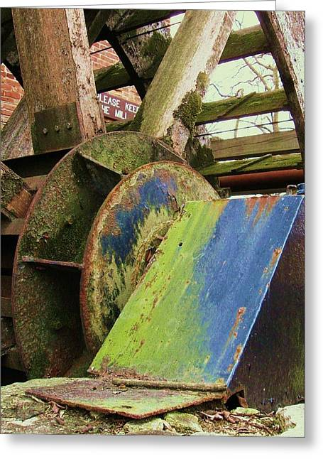 Old Mill Greeting Card by Todd Sherlock