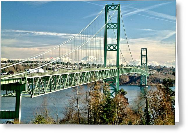 Old Narrows Bridge Greeting Card