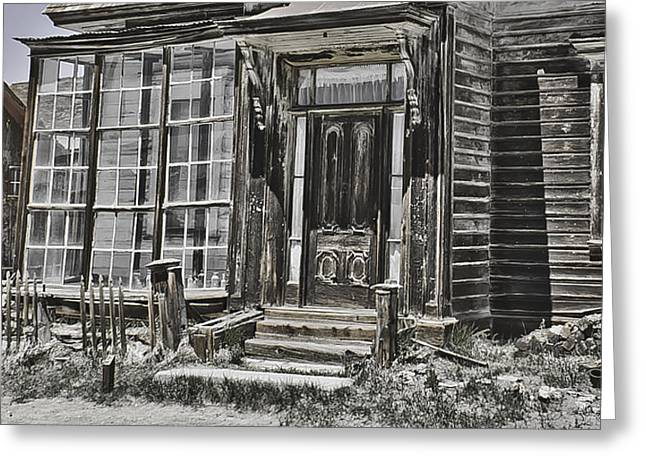 Old Old House Greeting Card by Richard Balison