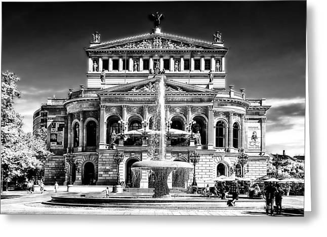 Old Opera Frankfurt Greeting Card