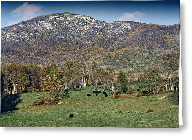Old Rag Mountain - Shenandoah National Park - Virginia Greeting Card