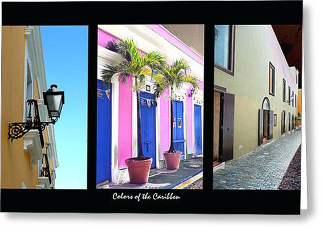 Old San Juan 17 Greeting Card