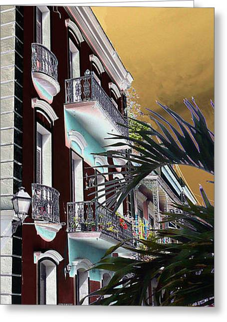 Old San Juan 5 Greeting Card