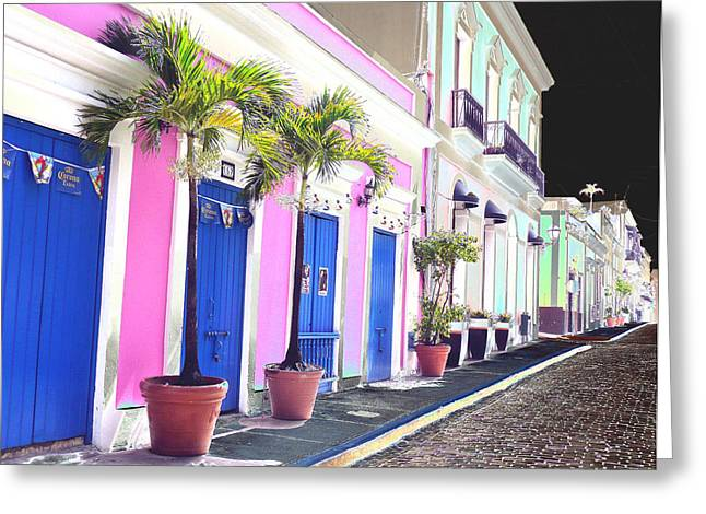 Old San Juan 6 Greeting Card