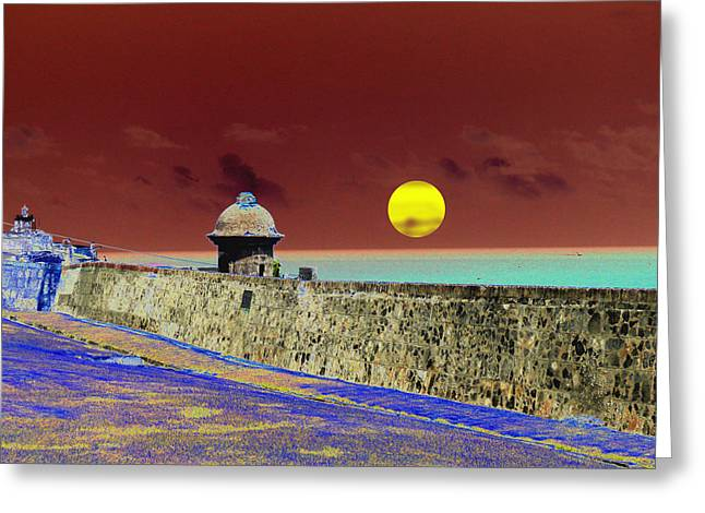 Old San Juan 8 Greeting Card