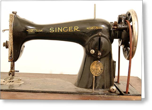 Old Singer 2 Greeting Card