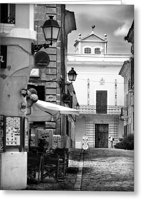 Greeting Card featuring the photograph Old Town by Pedro Cardona