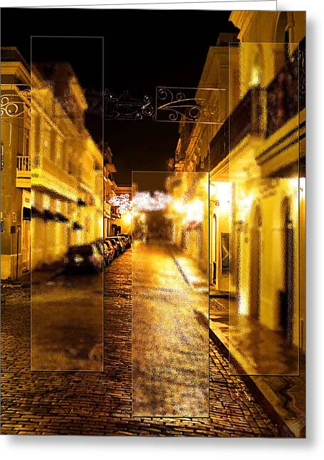 Old Town San Juan Greeting Card