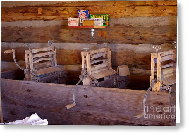 Greeting Card featuring the photograph Old West 2 by Deniece Platt