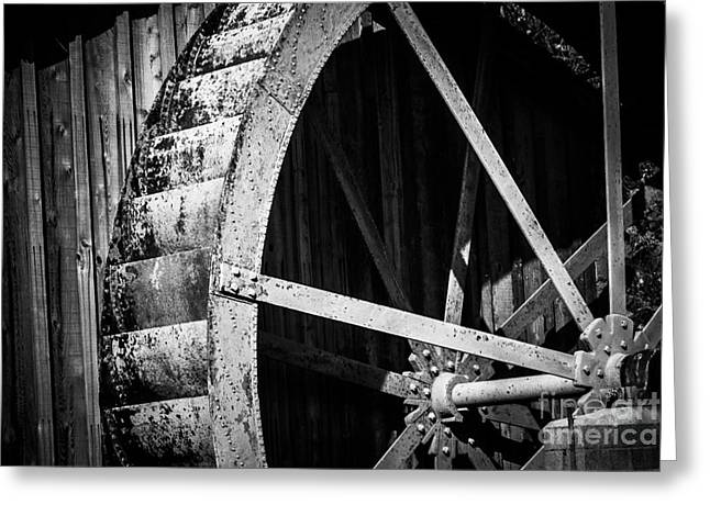 Old West Water Mill 2 Greeting Card