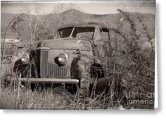 Ole Studebaker II Greeting Card by Laurinda Bowling
