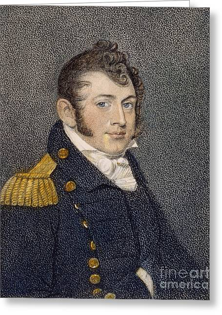 Oliver Hazard Perry (1785-1819) Greeting Card by Granger