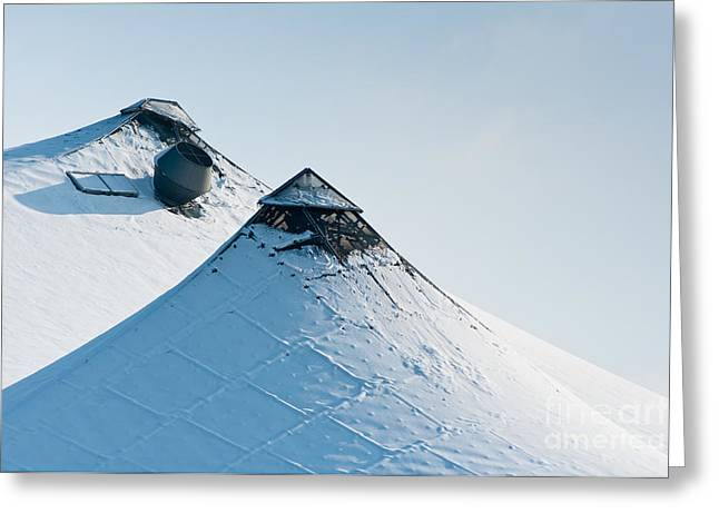 Greeting Card featuring the photograph Olympic Snow by Andrew  Michael