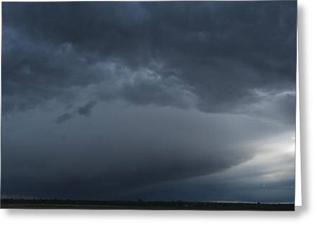 Ominous Clouds Edmonton Greeting Card